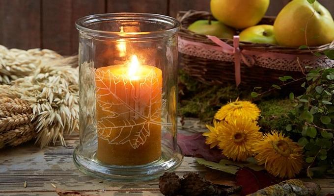 Csodálatos mécsesek hangulatos őszi estékre