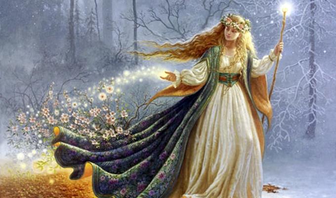 Freya Istenn� m�gikus napi j�slata - Neked