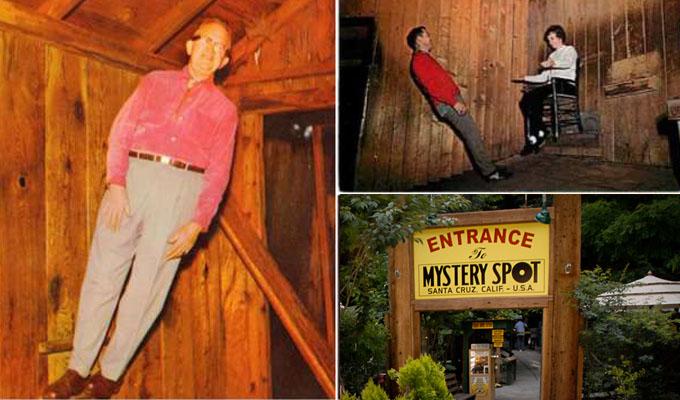 Mystery spot - A hely, ahol nincs gravit�ci�
