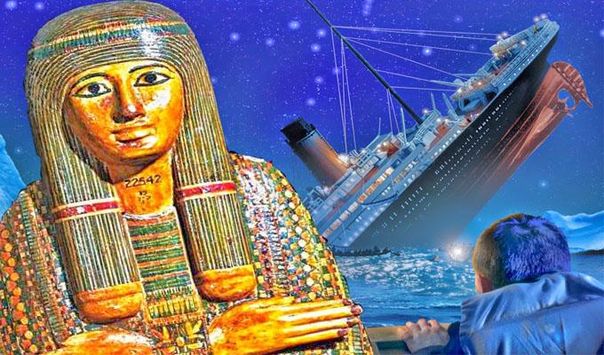 Az �tkozott �mon-R� f�papn� m�mi�ja okozta a Titanic szerencs�tlens�get?