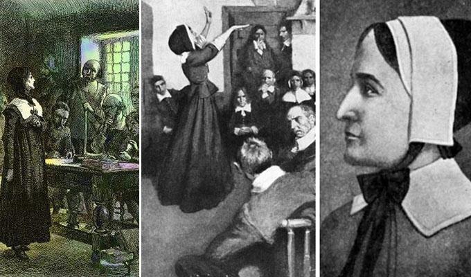 A szabads�g �s egyenjog�s�g l�tnoki harcosa, eln�k�k �sanyja -  Anne Hutchinson, a pr�f�tan�