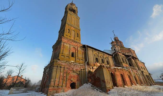 Elfelejtett orosz templomok