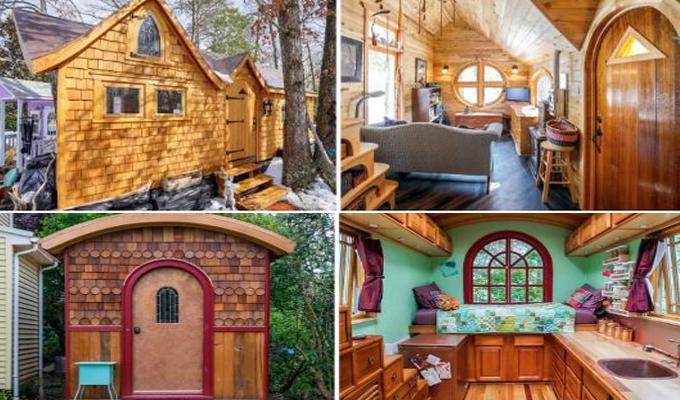 7 aprócska, de annál édesebb házikó, mely kisebb, mint egy hálószoba - Emberek élnek benne!