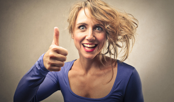 3 jel, hogy túl keményen próbálsz pozitívan gondolkodni