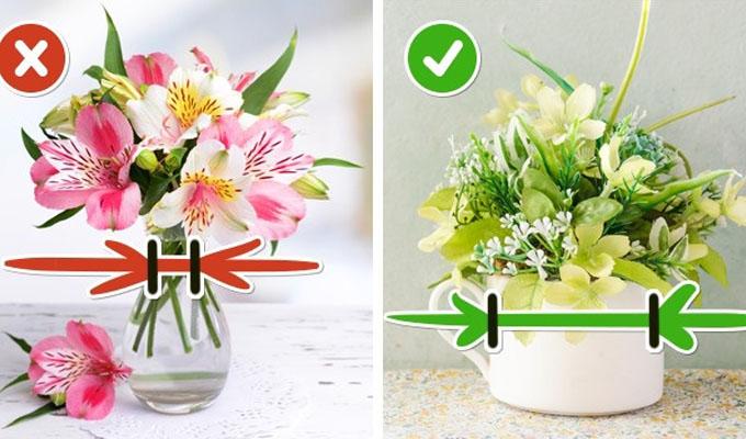 10 egyszerű trükk, hogy a vágott virág tovább friss maradjon