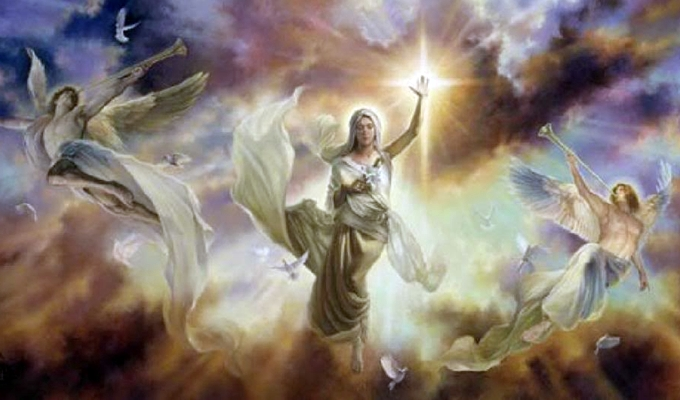 A pénteki nap angyalüzenete