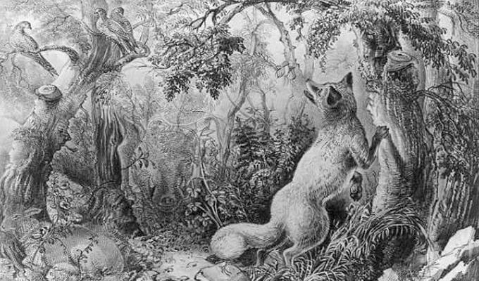Az összes rejtett állatot és arcot látod ezen a 144 éves képen?