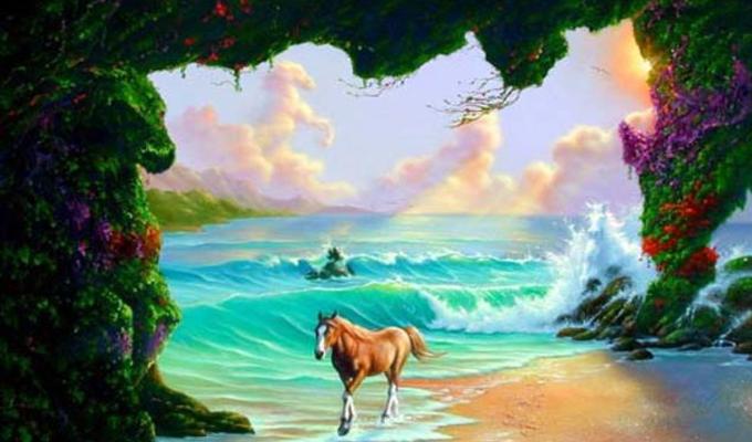 Hány lovat látsz a képen? Csak az emberek 2% -a tudja megtalálni mindent!