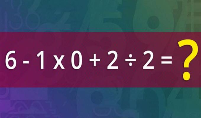 Az egész internetközösség próbálja megoldani ezt az egyszerű matematikai egyenletet