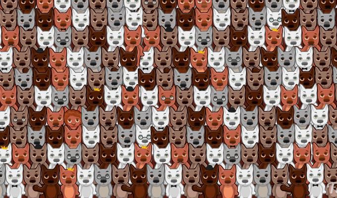 Megtalálod az egy szem juhot a farkasok között?