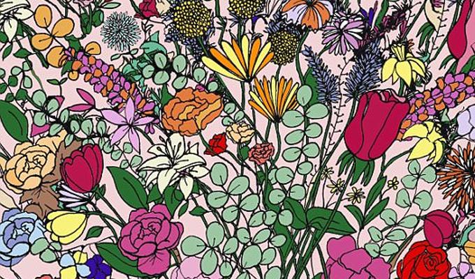 Egy tojás rejtőzik a virágok között - Vajon megtalálod?