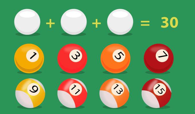 Fejtörő a billiárd golyókkal - Teszteld a matematikai és logikai készségeidet!
