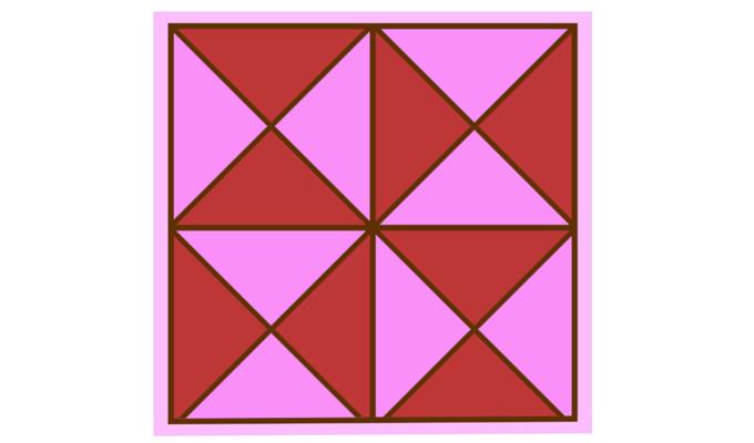 Mennyi háromszöget látsz a képen?
