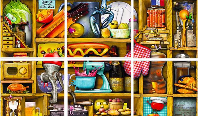 Óriási rendetlenség van a konyhában - Így is megtalálod az elrejtett holmikat?